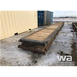 (2) 4 X 40 FT. WALK WAY RIG MATS
