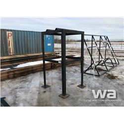 STEEL BARREL RACK