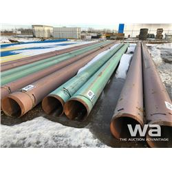 "(2) PIPE 15"" X 45 FT."