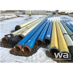 "(4) PIPE 12"" X 46 FT. TO 60 FT."