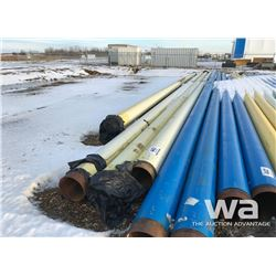 "(4) PIPE 12"" X 55 FT. TO 60 FT."