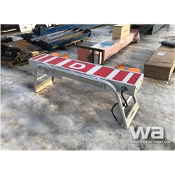 ALUMINUM WIDE LOAD SIGN