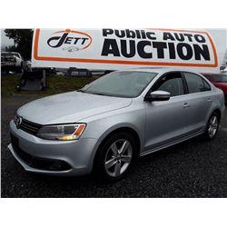 E3 --  2011 VW JETTA , Silver , 163553  KM's
