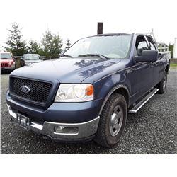 G5 --  2004 Ford F-150 , Blue , 262793  KM's