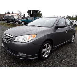I5 --  2009 Hyundai Elantra GLS , Grey , 196442  KM's