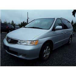 J3 --  2004 Honda Odyssey EXL , Silver , 151,060 Miles  KM's