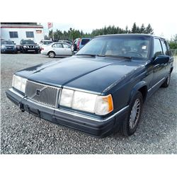 A2 -- 1994 VOLVO 960, Green , Unknown  KM's, OOP Alta