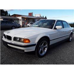 D1 --  1997 BMW 740IL , White , 163,813 MILES