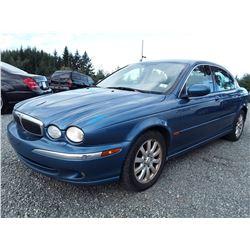 B6 --  2002 Jaguar X-Type , Black , 164029  KM's