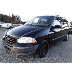 G1 --  2000 Ford Windstar LX , Black , 218394  KM's