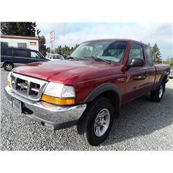 H1 --  2000 Ford Ranger , Red , 234391  KM's