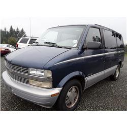 A8 --  1999 Chevrolet Astro  , Blue , 321142  KM's