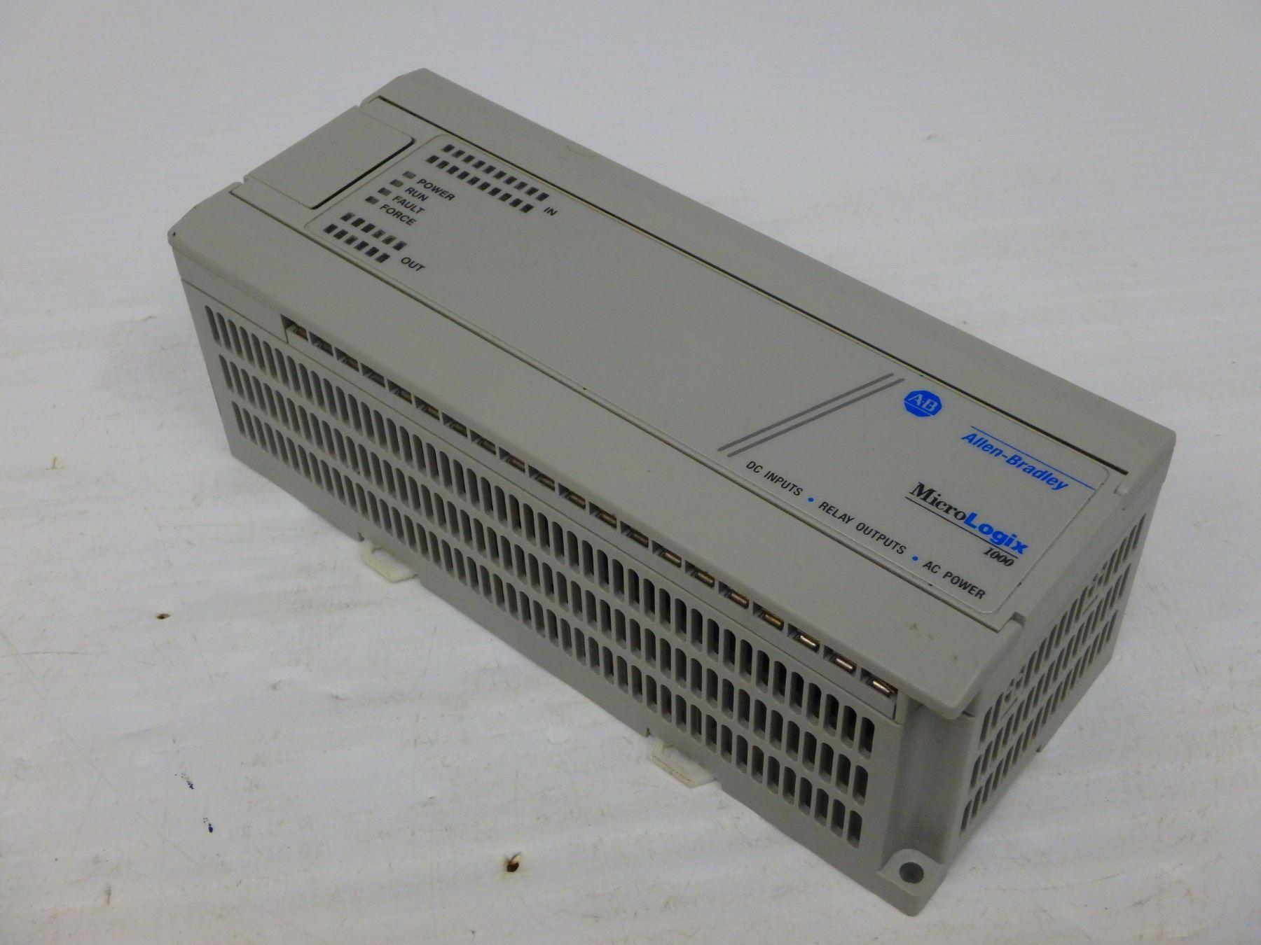 ALLEN BRADLEY 1761-L32BWA MICROLOGIX 1000 PROGRAMMABLE CONTROLLER