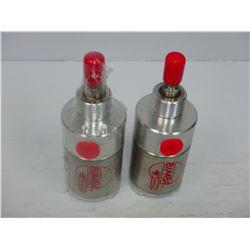 BIMBA (2) MRS-500 5-DG PNEUMATIC AIR CYLINDER