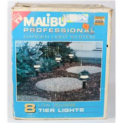 MALIBU 8 LAMP PROFESSIONAL GARDEN LIGHTS