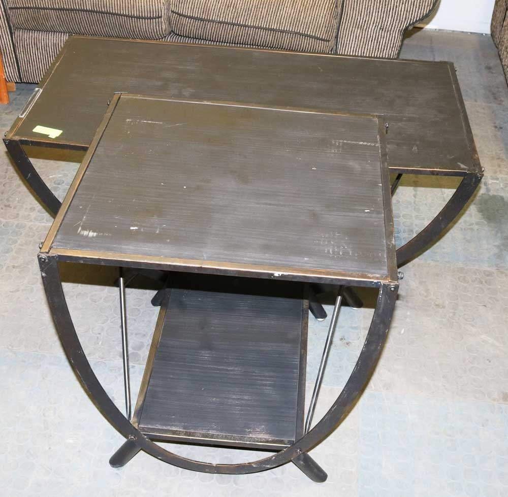 Restoration Hardware Look Coffee And End Table