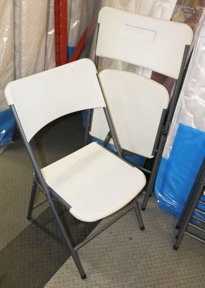 Groovy Lot Of 2 Enduro Resin Folding Chairs Creativecarmelina Interior Chair Design Creativecarmelinacom