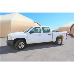 2012 Chevy 1500 Truck 4x4 Quad Cab 70448 Miles 649-TTX (Runs,Drives,See Video) Title on Order