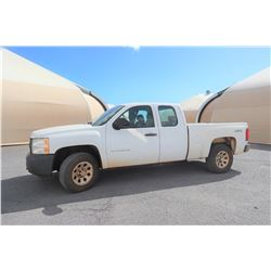 2011 Chevy Truck 4x4 Crew Cab 59,160 Miles 542TVA (Runs,Drives See Video), Title on Order