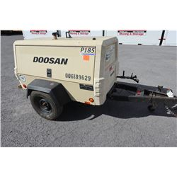 2013 Doosan P185WJD Portable Air Compressor 3118 Hours  (Starts,Runs,See Video)