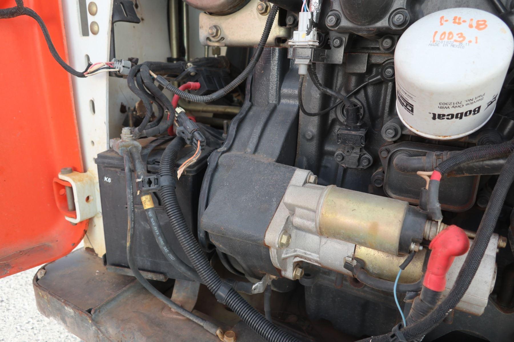 2015 Bobcat S570 Skid Steer Loader 1143 Hours (Runs,Drives