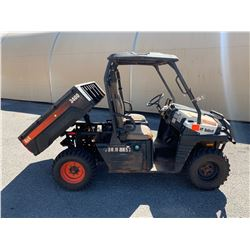 2012 Bobcat 3400 UTV With Hydraulic Dump Bed  1416 Hours (Runs,Drives See Video)