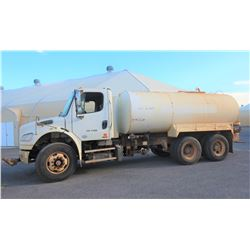2011 Freightliner M2-106 Water Truck 4000 Gallon Capacity 16,923 Miles (Runs Drives See Video)