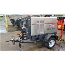 Lincoln Electric Vantage 500 Welder / Generator (Starts,Runs,Not Fully Tested See Video) 3151 Hours