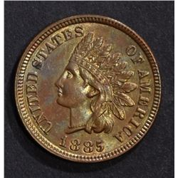 1885 INDIAN CENT, CH BU