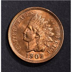1902 INDIAN CENT, CH BU RB
