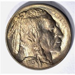 1913-D TYPE-1 BUFFALO NICKEL, CH BU++