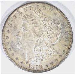 1878-S MORGAN DOLLAR, CH BU++ ORIGINAL