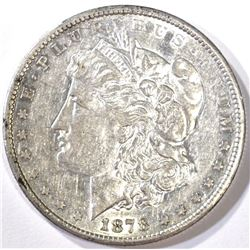 1878-CC MORGAN DOLLAR, AU
