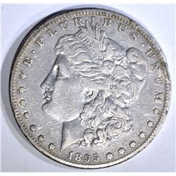 1895-O MORGAN DOLLAR, XF