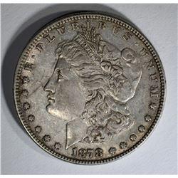 1878 7TF MORGAN DOLLAR  XF+