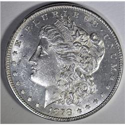 1878 8TF MORGAN DOLLAR  CH BU