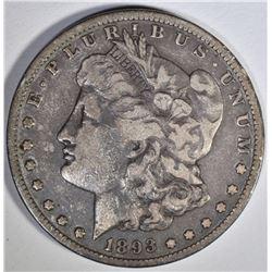 1893-S MORGAN DOLLAR  FINE