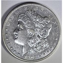 1903-S MORGAN DOLLAR  AU+