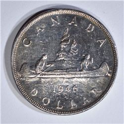 1946 SILVER CANADA DOLLAR