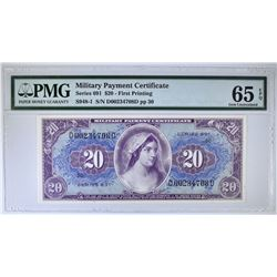 SERIES 691 $20 MILITARY PAYMENT CERTIFICATE