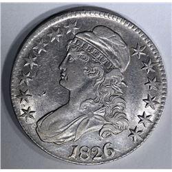 1826 BUST HALF AU