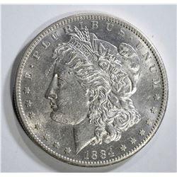 1884-S MORGAN DOLLAR AU/BU SCARCE!