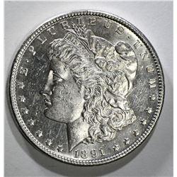 1891-CC MORGAN DOLLAR CH BU