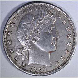 1892 BARBER HALF DOLLAR  CH PROOF