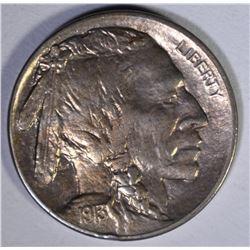1913 D TYPE 2 BUFFALO NICKEL  AU/BU