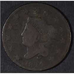 1824 LARGE CENT VG
