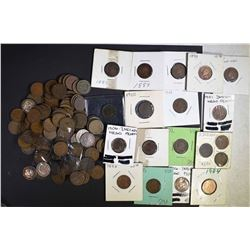150-MIXED DATE INDIAN HEAD CENTS