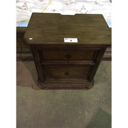 ASHLEY SIGNATURE 2,  2 DRAWER NIGHT STANDS MATCHES LOT 5 OR 6