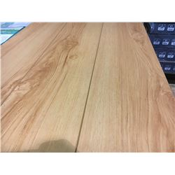 EC PREMIUM, 12.3 MM WARM MAPLE  GLUELESS LAMINATE FLOORING