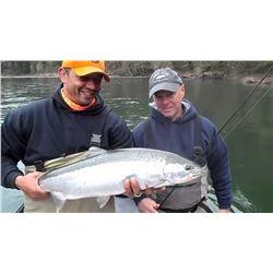 FALL SALMON/STEELHEAD FISHING TRIP FOR TWO PEOPLE